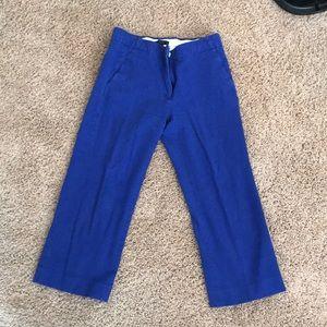 J crew crop dress pants